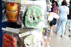 買了面具就唔好去銀行喇