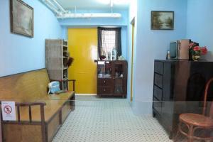 生活館裏還原昔日公屋單位佈置,這是較近代的佈置。