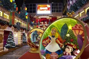 海港城今年聖誕裝飾以迪士尼做主題