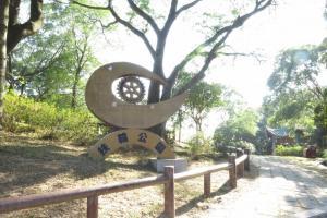 賞櫻之餘可到扶輪公園內的觀景台。