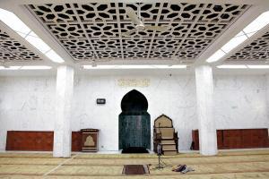 九龍清真寺的禮拜堂