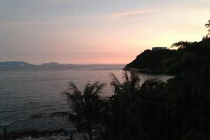 在馬坑公園可以欣賞赤柱海灣風景