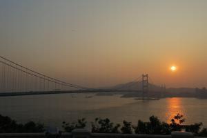 清晰看到青馬大橋