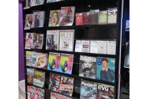 店內另有音樂雜誌售賣