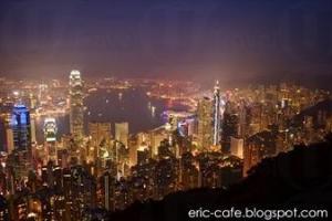 盧吉道夜景 (圖: Eric/2013年攝)