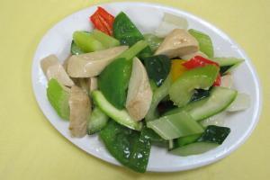 蔬菜炒麵筋