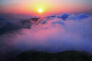 鳳凰山上觀日出