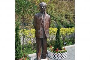 饒宗頤教授銅像