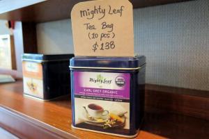 可以買盒Earl Grey Tea,帶英倫風回家