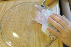 塗上紙巾保護膠(coating)
