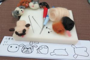 小八哥羊毛氈製作,紙樣可幫助量度大小