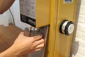 在需要時才磨好咖啡粉。