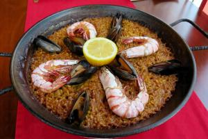 西班牙海鮮飯。