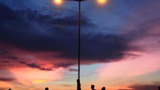 西環貨運碼頭影港版天空之鏡 (圖: IG@g.e.o.f)