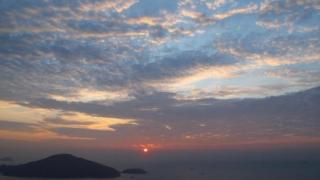 從砵甸乍山拍攝的日出 (主場博客圖片)