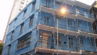 在石水渠街的芸芸古建築物中,相信大家對藍屋絕不會陌生。