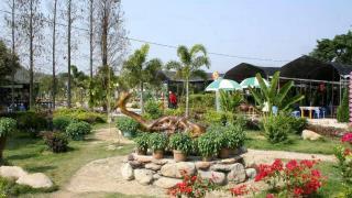 香薰園內有兒童玩樂設施,成人想在此重拾童真亦可。