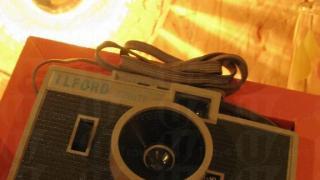 由英國運過來的經典 Ilford Sprite 相機。