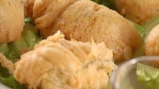 酥炸肥美生蠔,使用流浮山最地道的特產,隻隻蠔都鮮甜飽滿,外皮炸得金黃酥脆,很可口,$72。