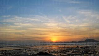 白泥的夕陽被譽為全港最美日落。