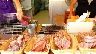 蔡瀾的美食節目也曾介紹這裡的燒魷魚。