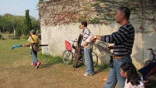 公園內雲集了不少風箏高手,大家平時亦愛聚在一起分享心得。