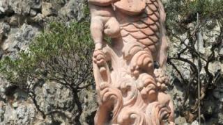 慈雲閣中有不少亭台樓閣,當中竟出現西方小天使,認真有趣。