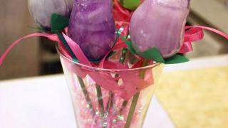 Kennis 自家製的肥皂花,十分精美,不妨作為白色情人節禮物!