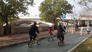 外環路面沿途平滑,屬五星級單車徑。