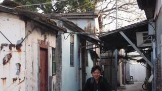 往沙江廟前會經過村內小巷,充滿尋幽探秘的感覺。