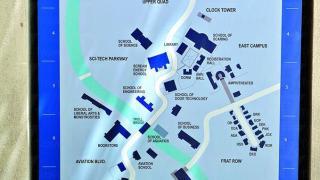 怪獸大學平面圖