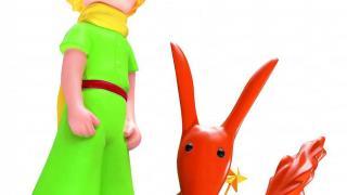 展覽的焦點當然選用了小王子跟他的的狐狸朋友。