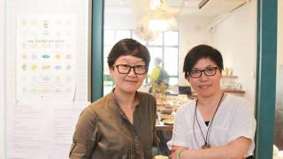 店主Yokky Wong,店長 Heidi Choi