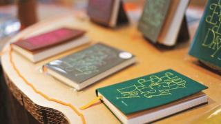 手縫筆記簿($210/本)