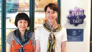 店主及設計師Bibi Lei,拍檔Calvin