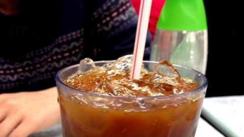 大坑源品車仔麵茶餐廳 招牌凍奶茶