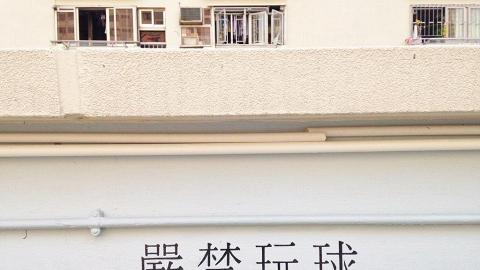 彩虹邨停車場天台