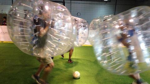 圖:FB@Bubble Soccer Hong Kong