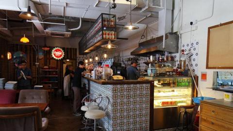 客人需自行到充滿懷舊氣息的櫃檯點餐