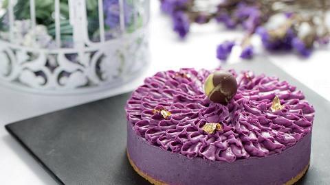 紫薯蛋糕(圖: FB@Ultra Violet)