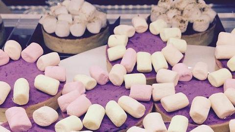 紫著芝士S'more tart(圖: IG@cafe_bauhinia )