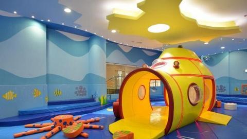 調景嶺體育館兒童遊戲室(圖:康文署)