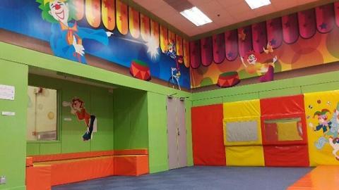 中山紀念公園體育館兒童遊戲室(圖:康文署)