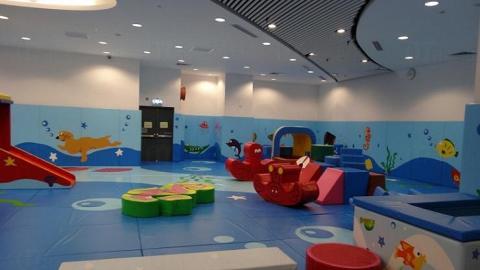 天暉路體育館遊戲室 (圖:康文署)