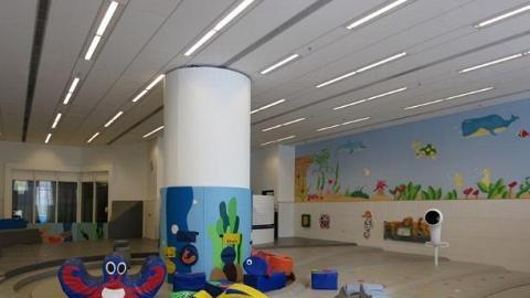 坑口體育館遊戲室(圖:康文署)