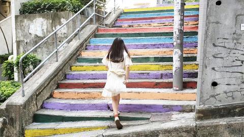 灣仔秀華坊彩虹樓梯