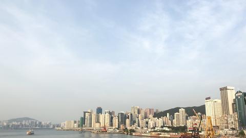 碼頭天台觀景台