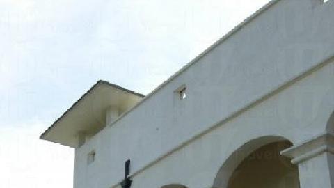 屏山文物館的前身是建於1899 年的舊警署,外形古色古香。( 孫靜雯攝 )