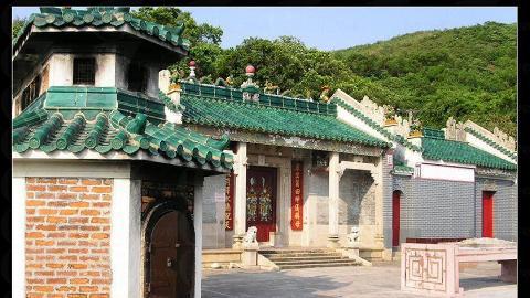巨大的宋朝天后廟