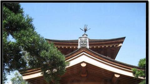 很有日式建築的風味。